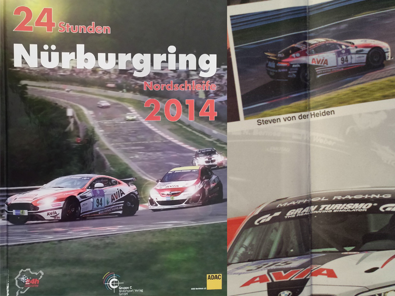 24 H Nürburgring Nordschleife 2014 /Avia Racing Edition/ Buch